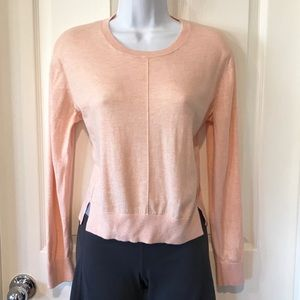 Banana Republic Peach Lightweight Sweater sz Small